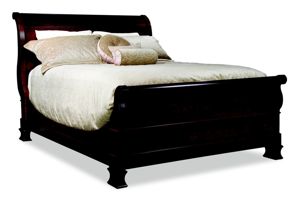 Durham Furniture - Master Sleigh Bed, Queen