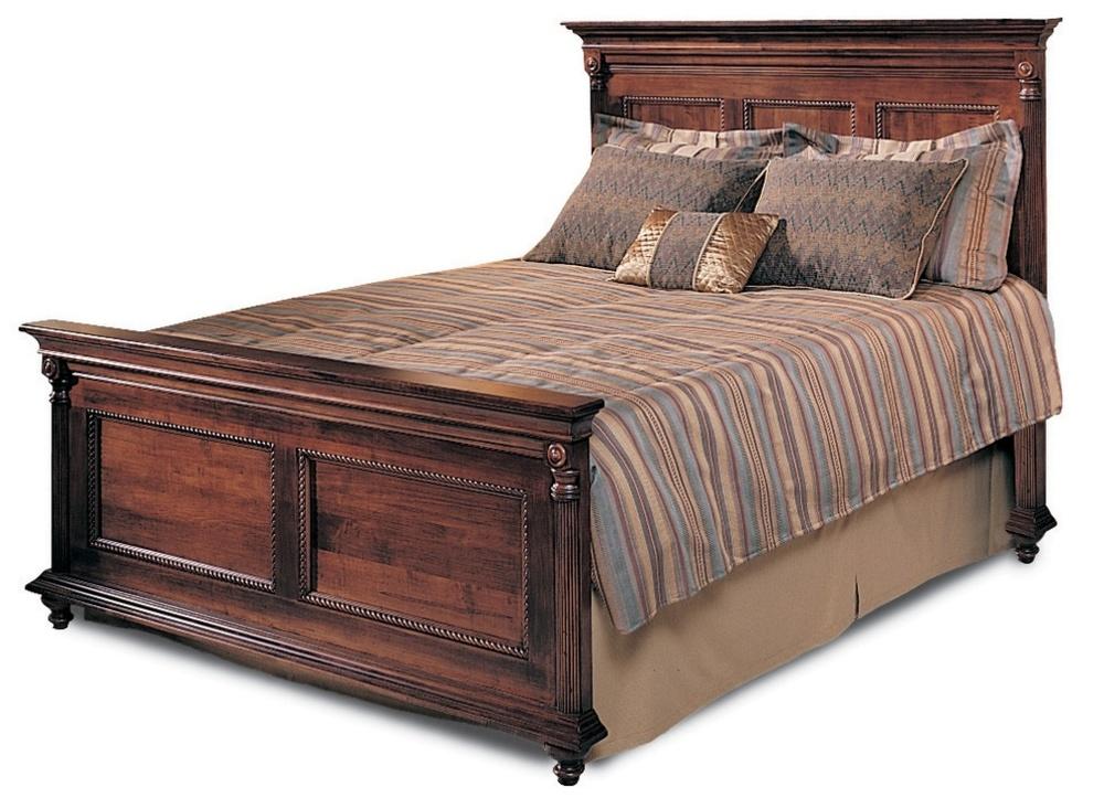 Durham Furniture - Panel Bed, King