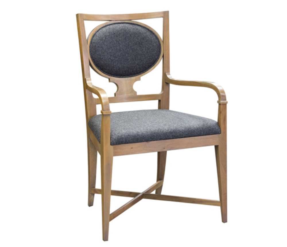 Councill - Catherine Oval Back Arm Chair
