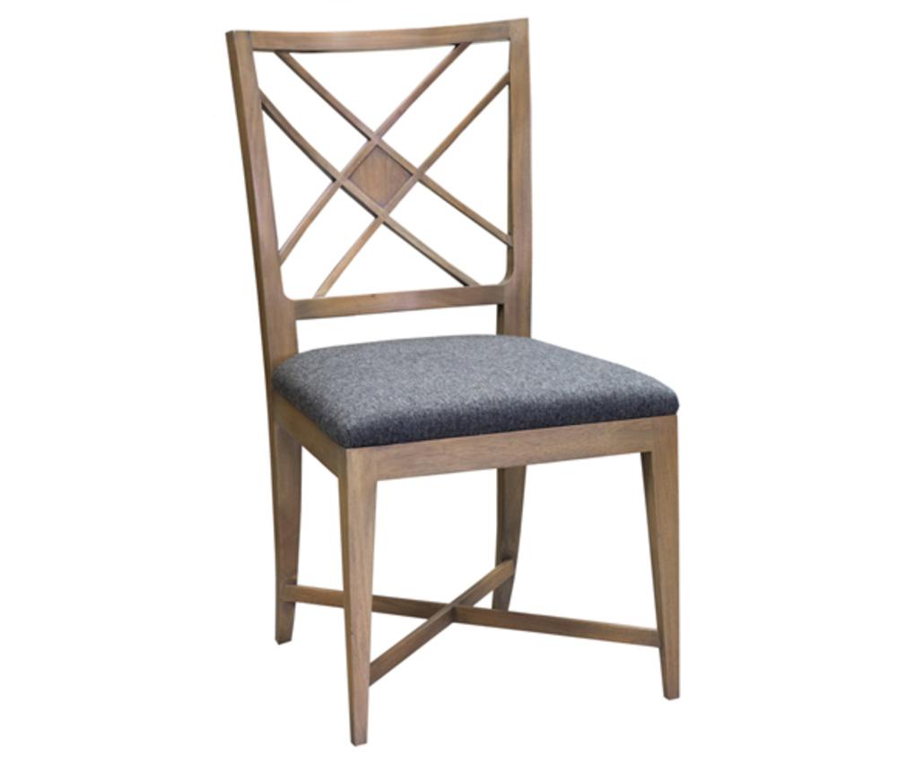 Councill - Nash Lattice Back Side Chair