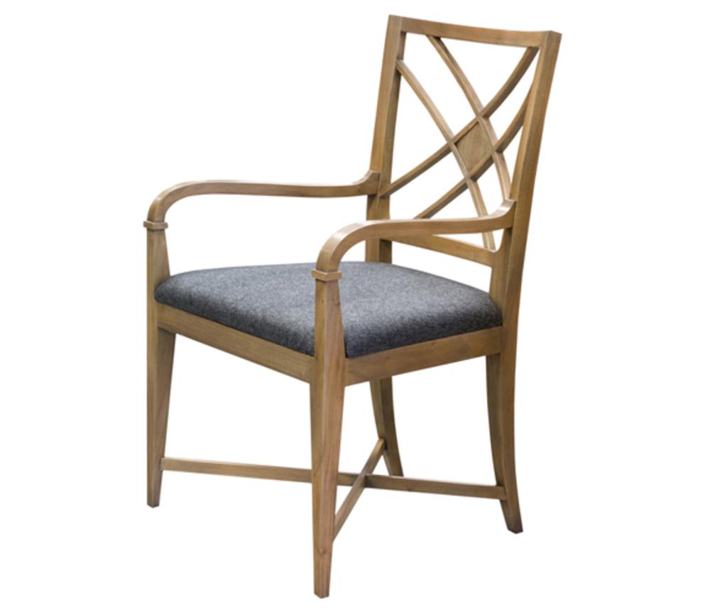 Councill - Nash Lattice Back Arm Chair