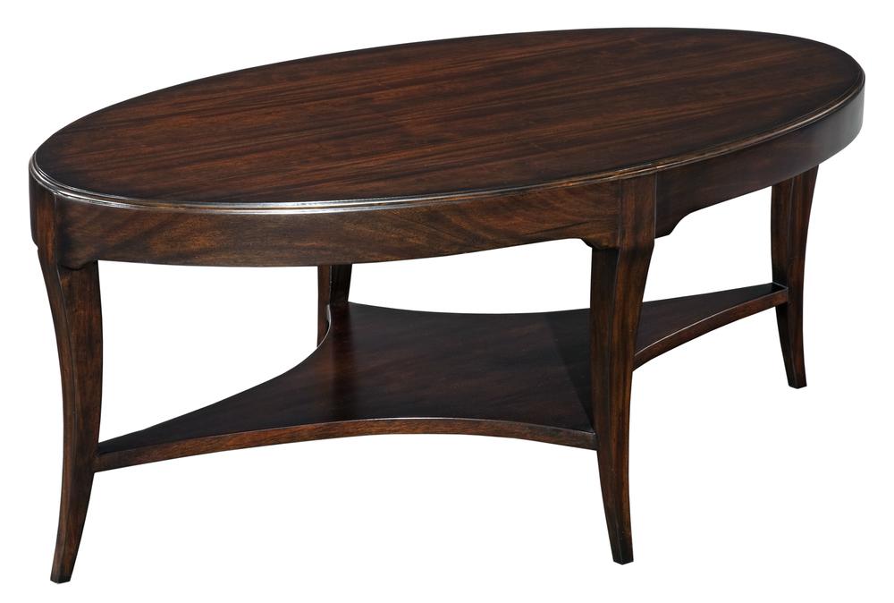 Woodbridge Furniture Company - Addison Oval Cocktail Table