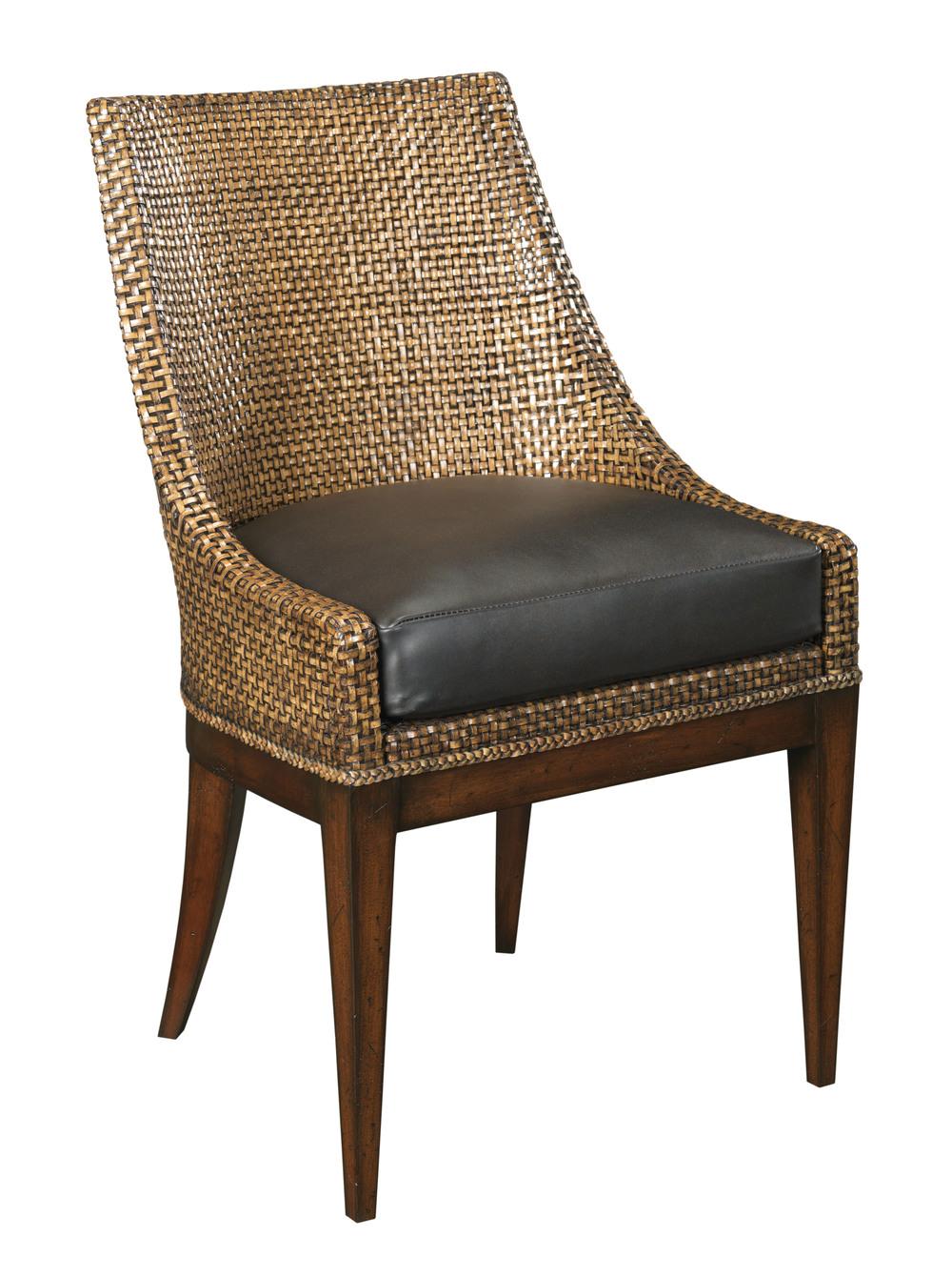 Woodbridge Furniture Company - Woven Leather Chair