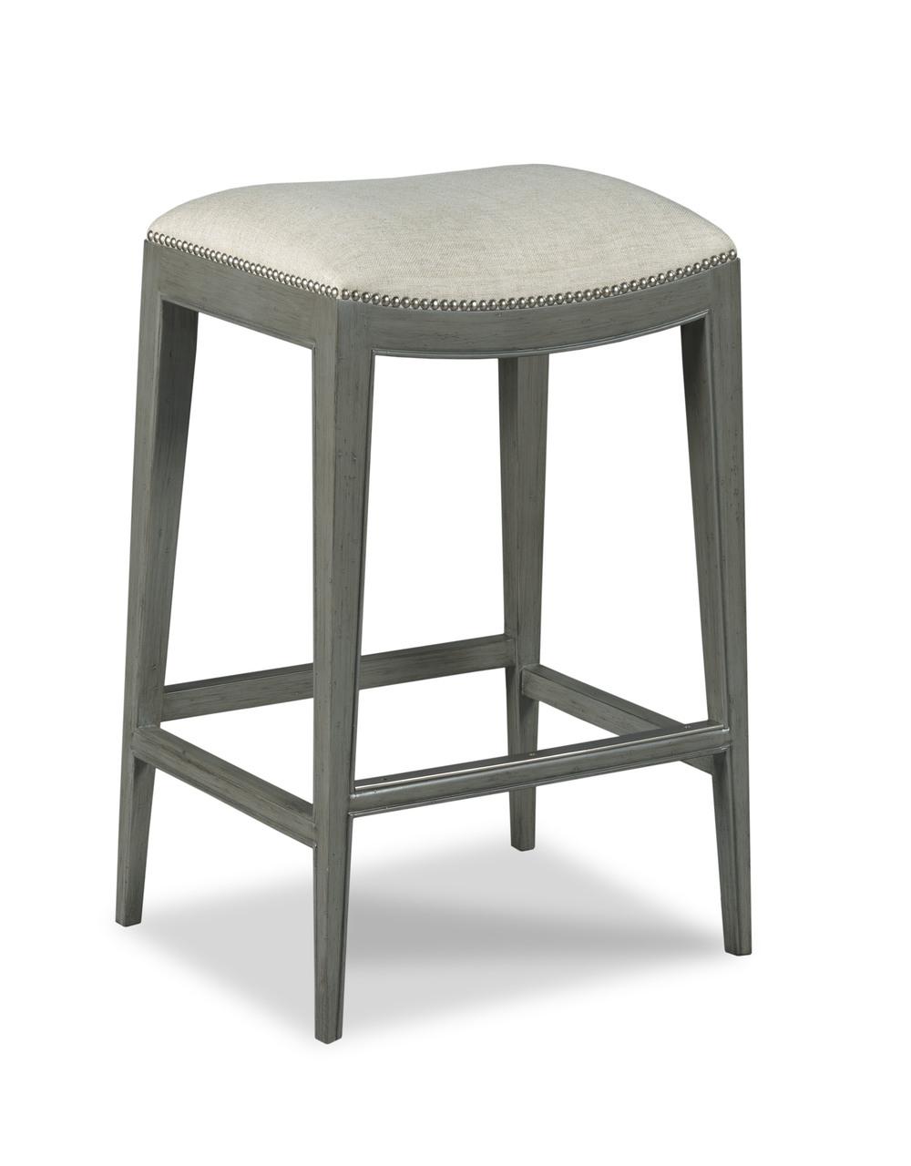 Woodbridge Furniture Company - Saddle Seat Counter Stool