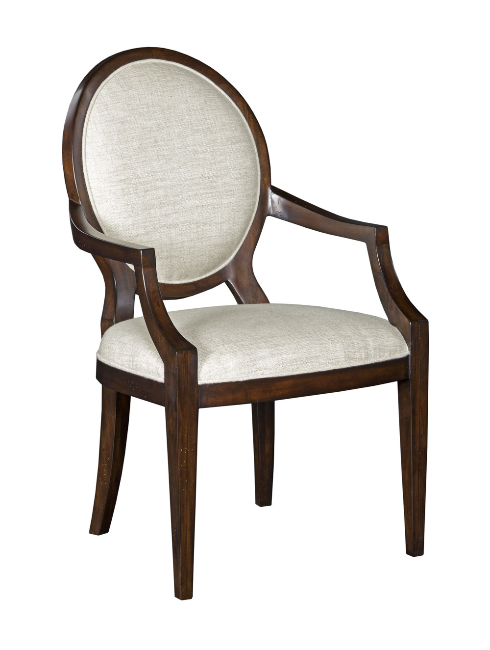 Woodbridge Furniture Company - Oval Back Arm Chair