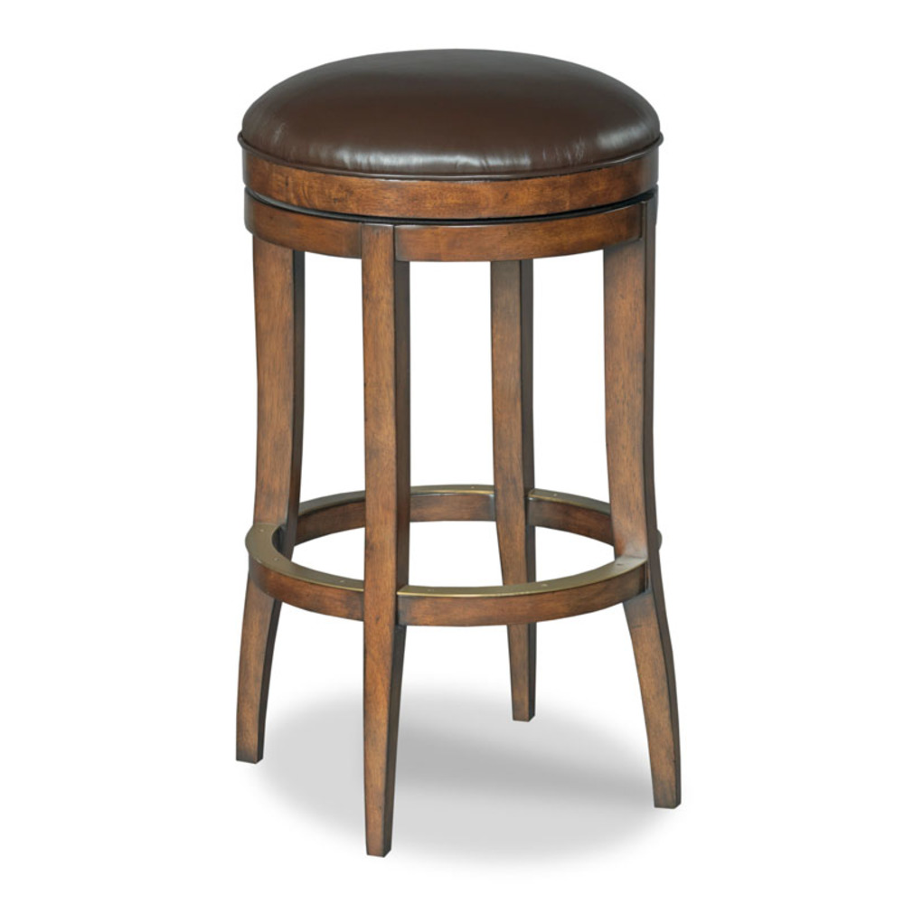 Woodbridge Furniture Company - McNally Backless Swivel Counter Stool