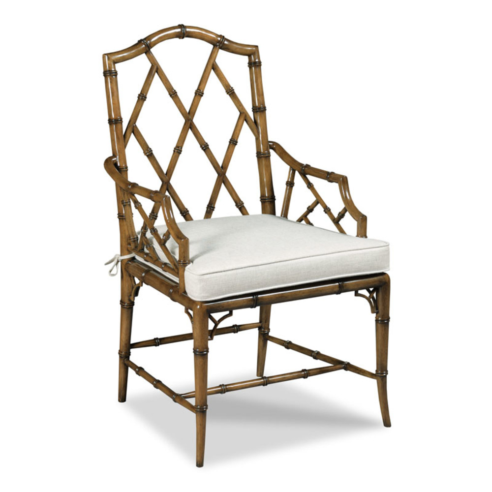 Woodbridge Furniture Company - Faux Bamboo Arm Chair