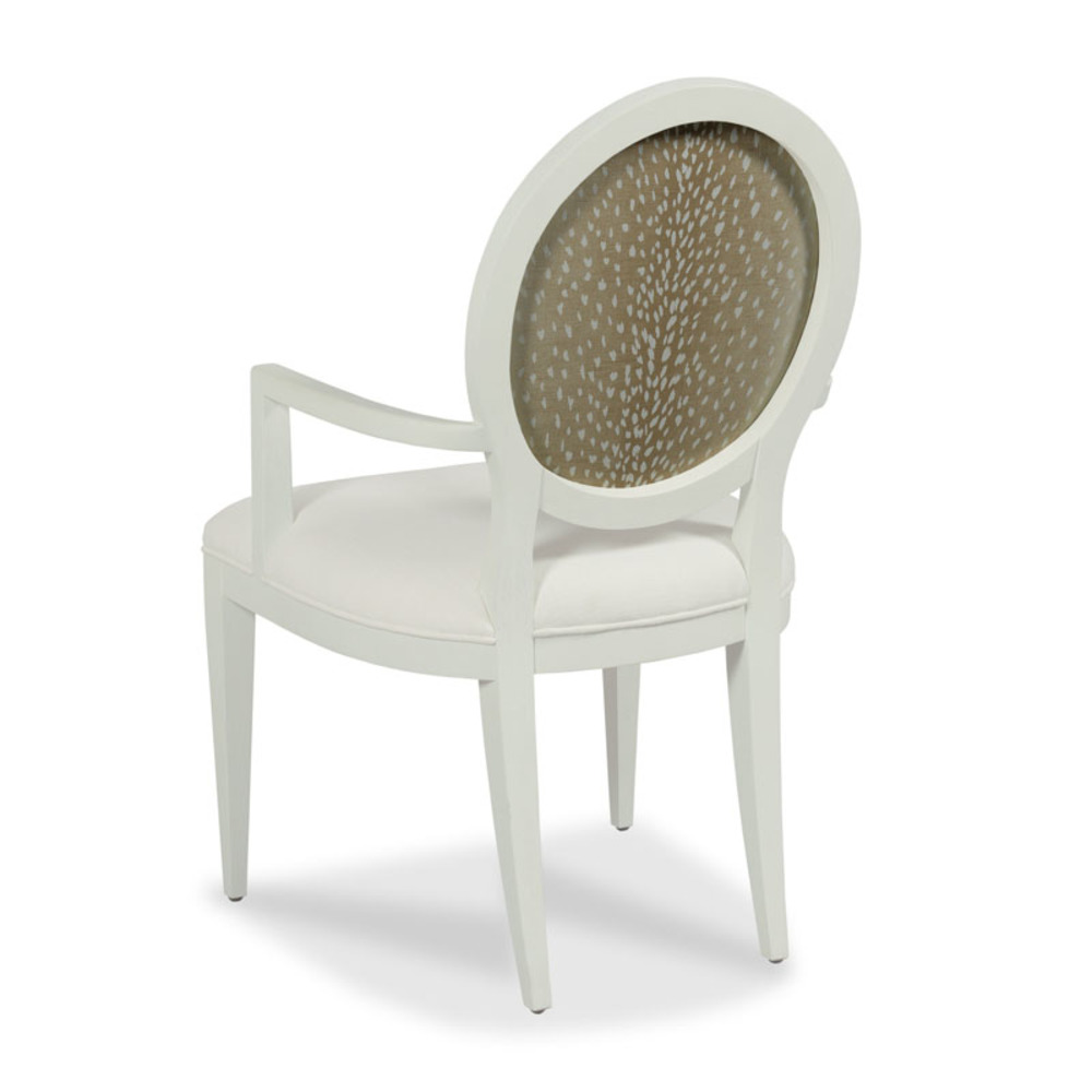 Woodbridge Furniture Company - Ovale Arm Chair