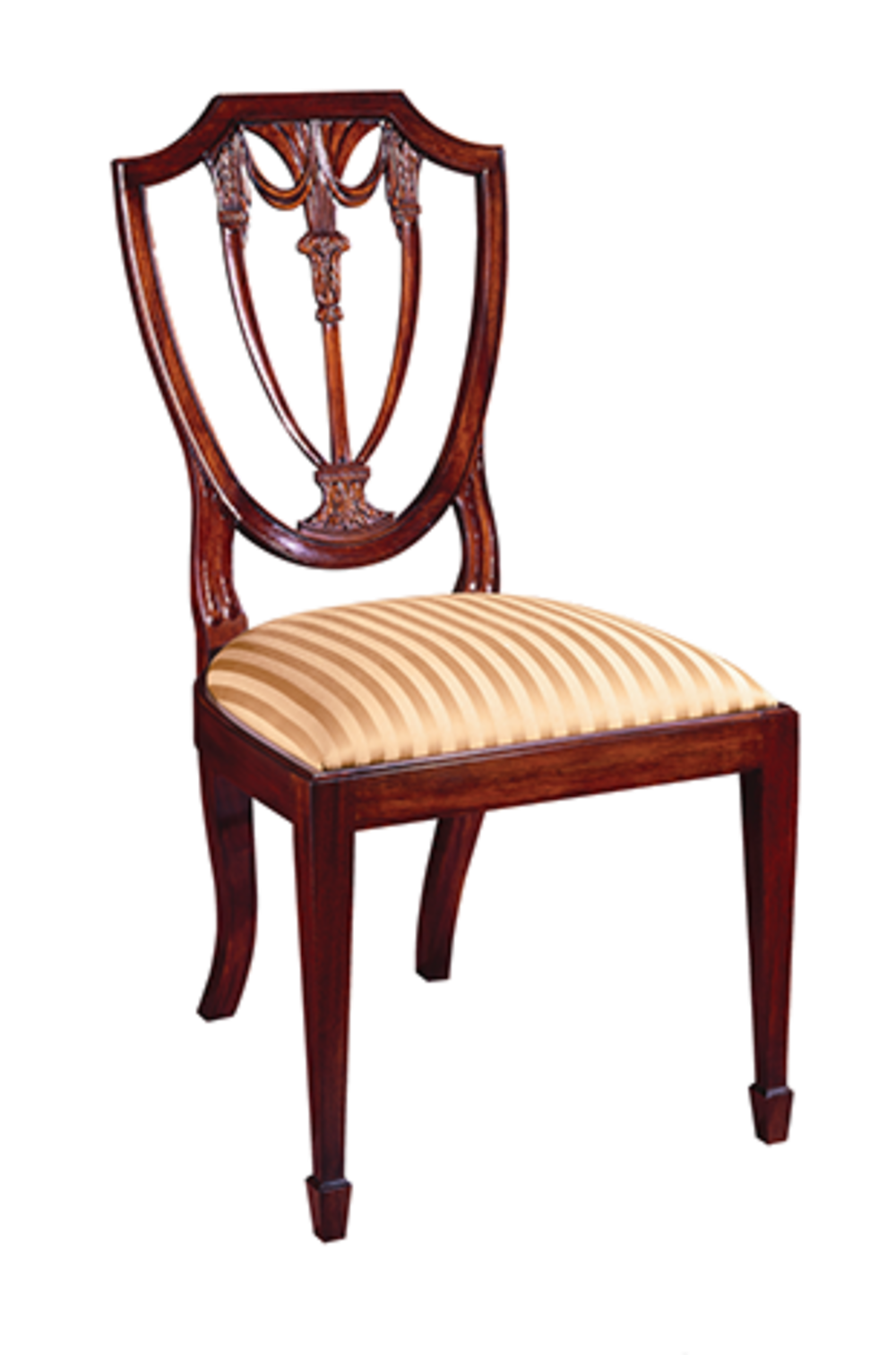 Henkel-Harris - Shield Back Side Chair