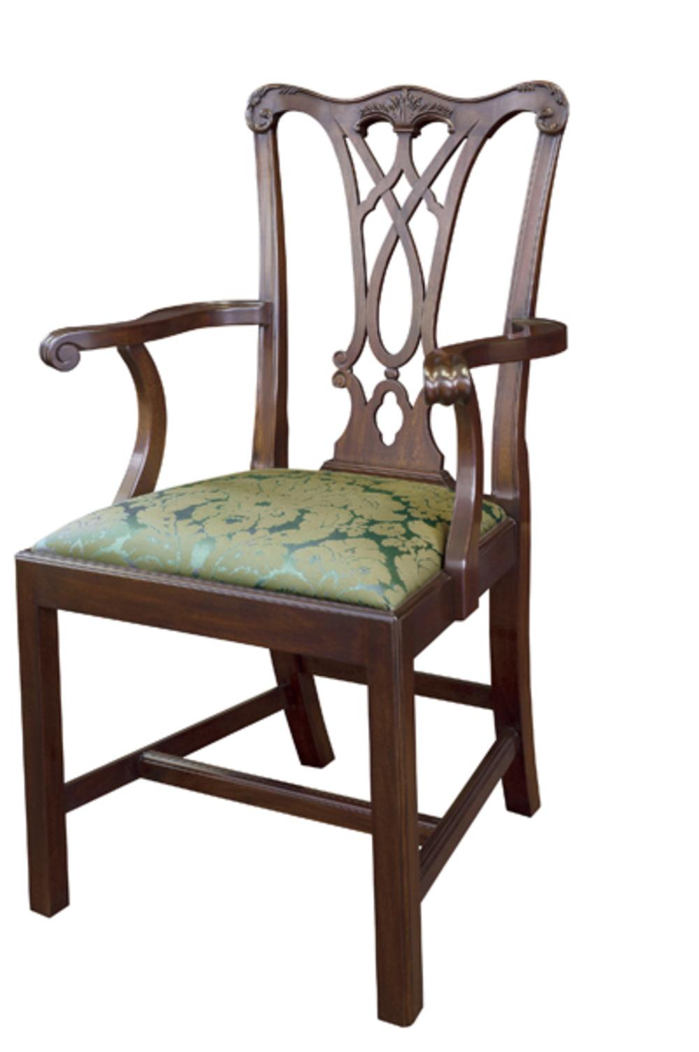 HENKEL-HARRIS, INC - Chippendale Arm Chair