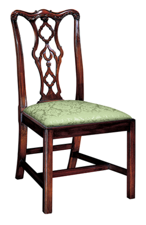 Thumbnail of Henkel-Harris - Chippendale Side Chair