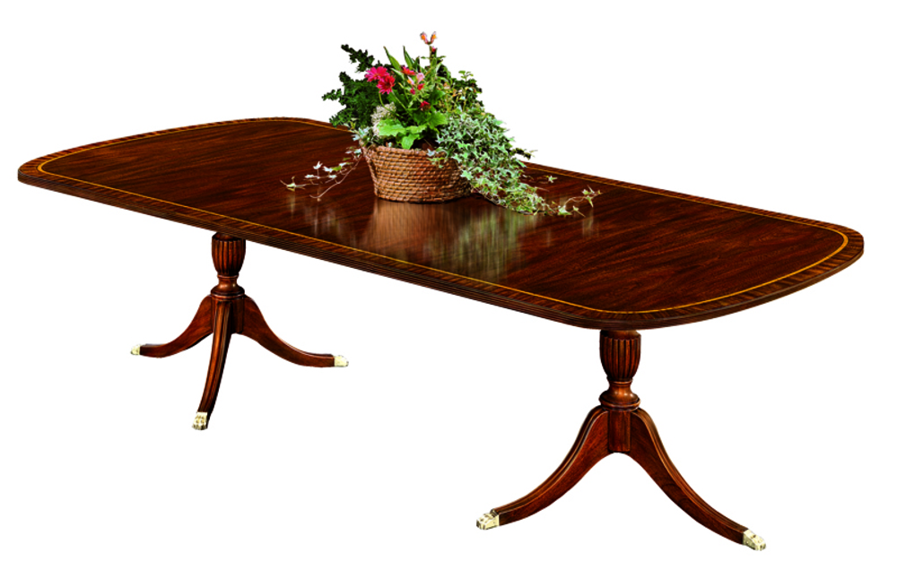 Henkel-Harris - Double Pedestal Dining Table