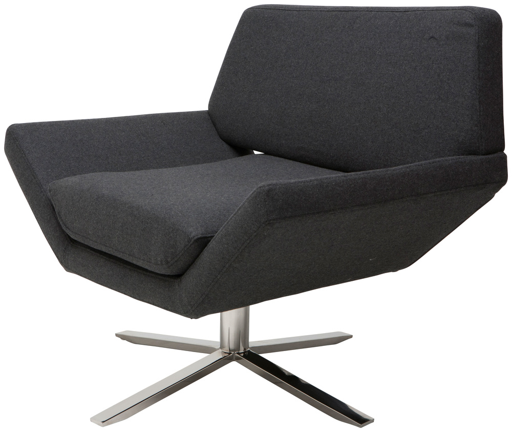 Nuevo - Sly Swivel Occasional Chair