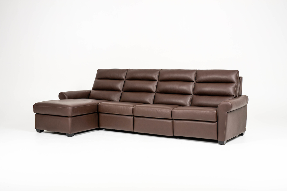 American Leather - Austin Two Piece Sectional with Chaise