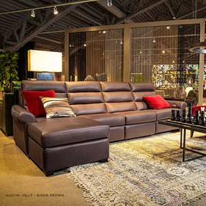 Thumbnail of American Leather - Austin Two Piece Sectional with Chaise