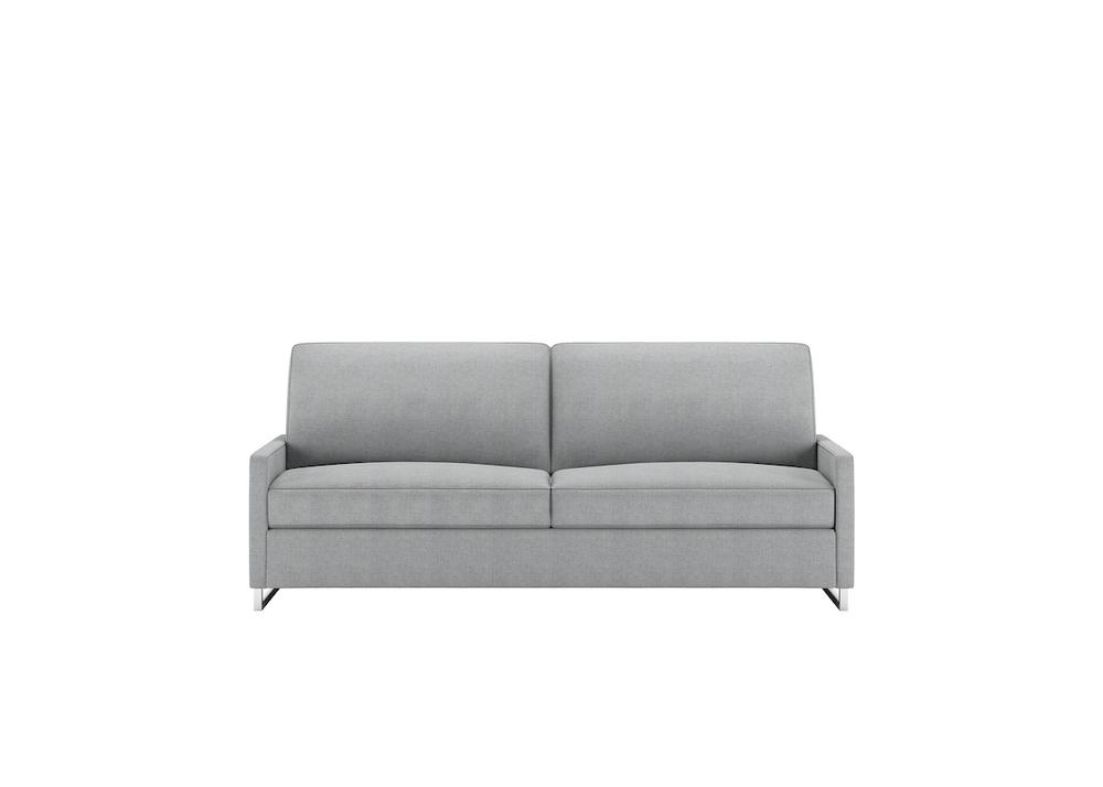 American Leather - Brandt Convertible 2 Seat Sofa, Queen Plus