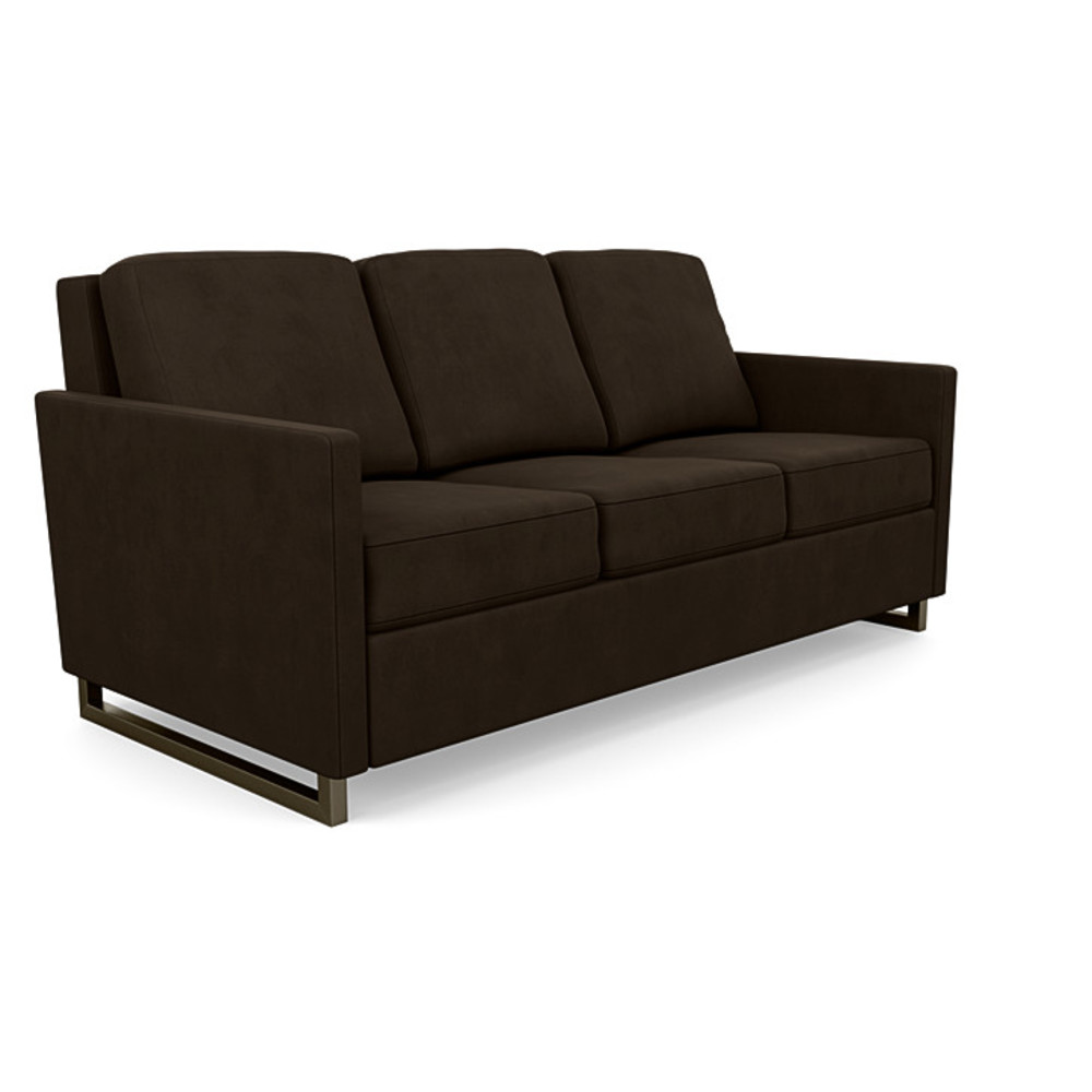 American Leather - Brandt Convertible 3 Seat Sofa, Queen Plus
