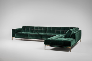 Thumbnail of American Leather - Barcelona Two Piece Sectional with Bumper