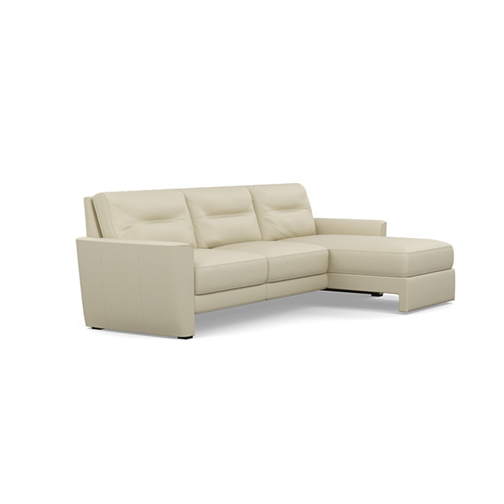 American Leather - Chelsea Three Piece Sectional with Chaise