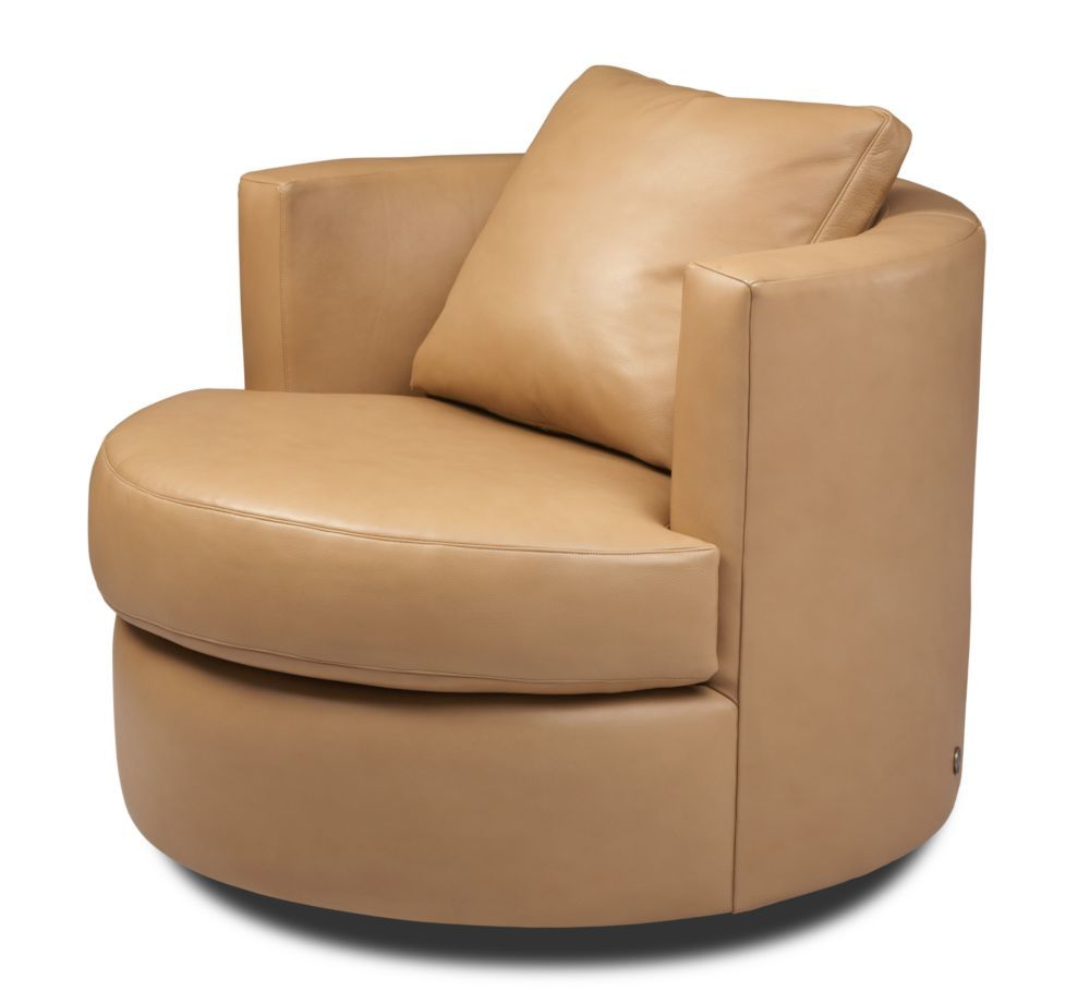 American Leather - Emma Standard Swivel Chair
