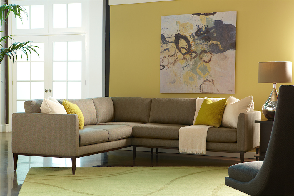 American Leather - Henley Two Piece Sectional