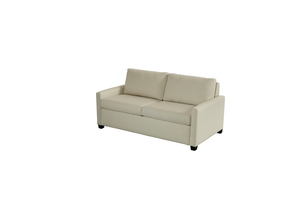 Thumbnail of American Leather - Palmer Silver Convertible 2 Seat Sofa, Queen