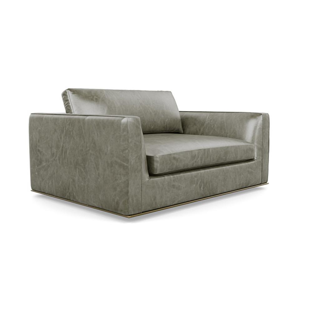 American Leather - Siena Standard Studio Chair & 1/2