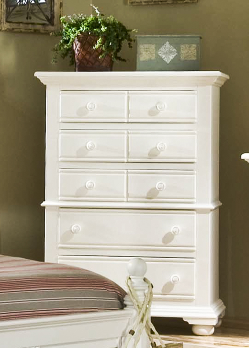 American Woodcrafters - Five Drawer Chest