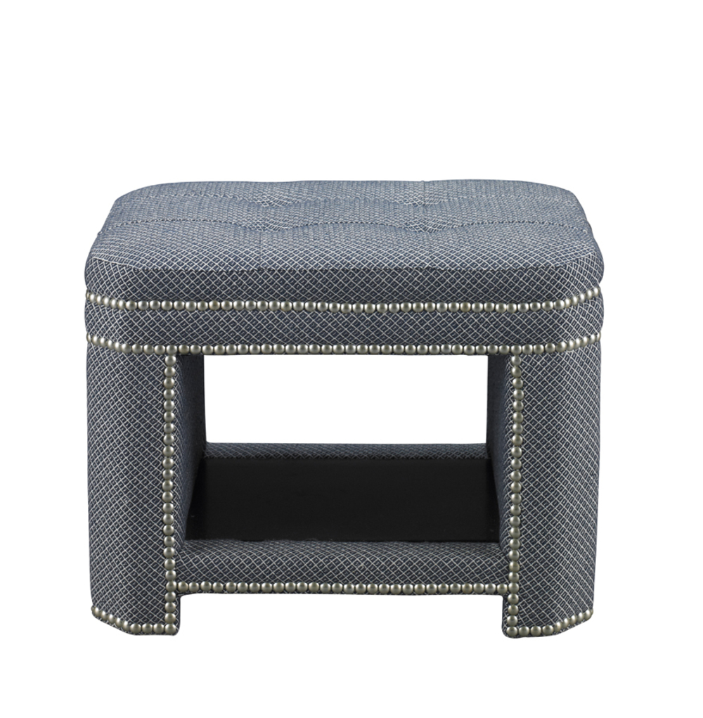 Mr. and Mrs. Howard by Sherrill Furniture - Clinton Ottoman
