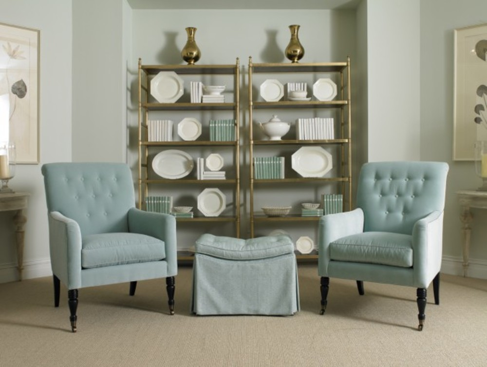 Mr. and Mrs. Howard by Sherrill Furniture - Sway Me Ottoman