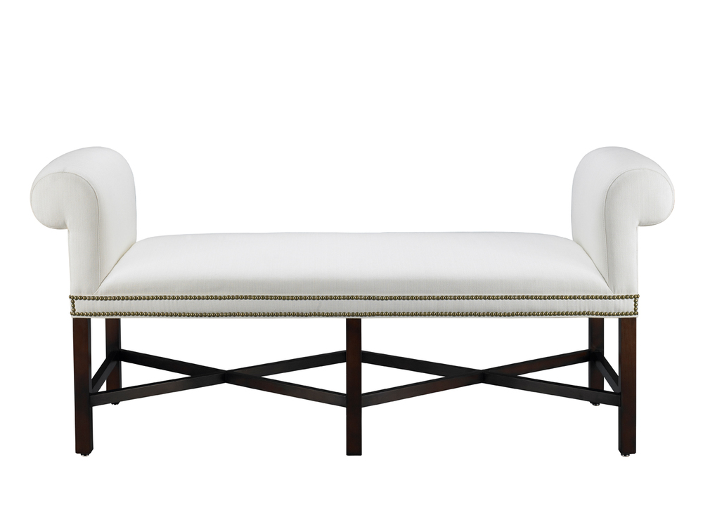 Mr. and Mrs. Howard by Sherrill Furniture - Armagnac Bench