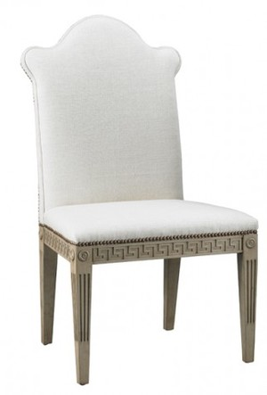 Thumbnail of Mr. and Mrs. Howard by Sherrill Furniture - Greek Key Armless Chair