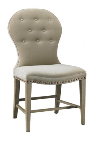 Thumbnail of Mr. and Mrs. Howard by Sherrill Furniture - Mongolfier Armless Chair