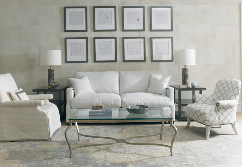 Mr. and Mrs. Howard by Sherrill Furniture - Cheryl Sofa