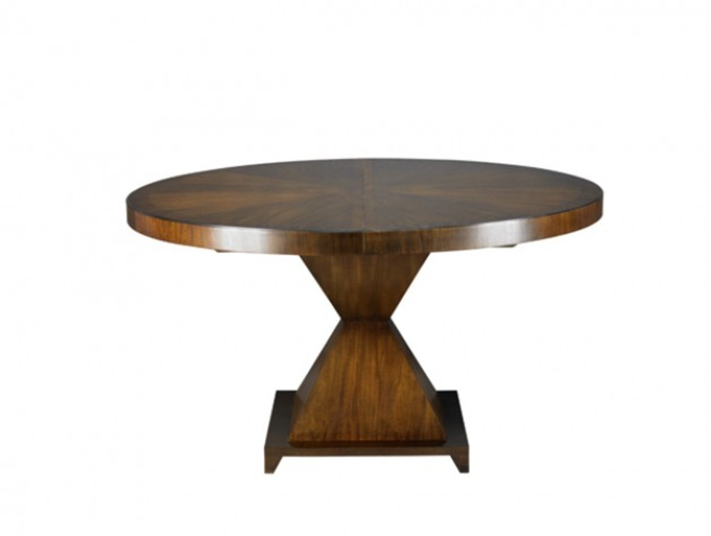 Mr. and Mrs. Howard by Sherrill Furniture - Hourglass Dining Table