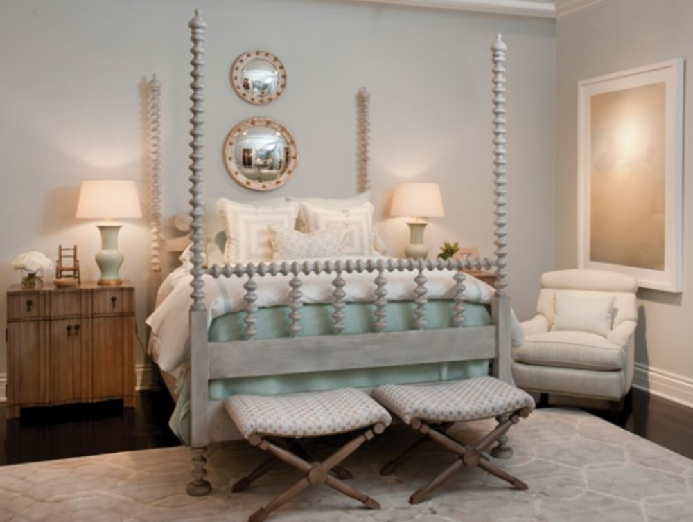 Mr. and Mrs. Howard by Sherrill Furniture - South Hampton King Bed