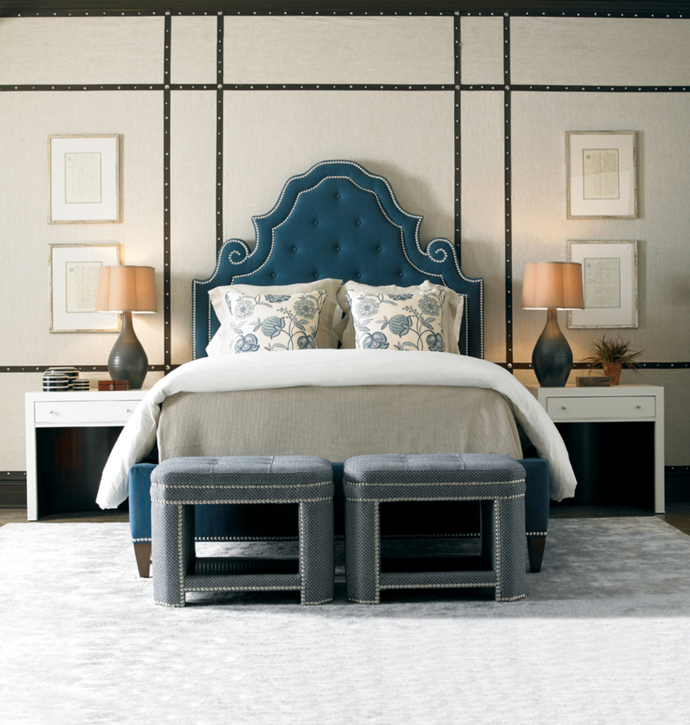 Mr. and Mrs. Howard by Sherrill Furniture - Shelter Island King Bed
