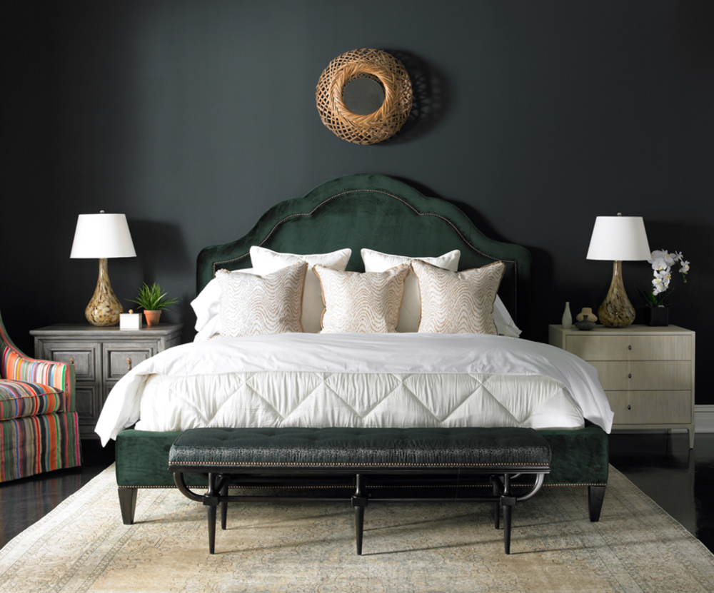 Mr. and Mrs. Howard by Sherrill Furniture - Tigley King Bed