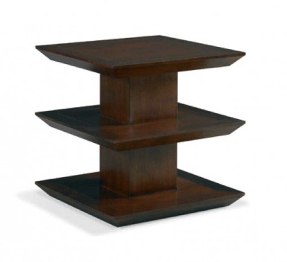 Mr. and Mrs. Howard by Sherrill Furniture - Three Tier Side Table