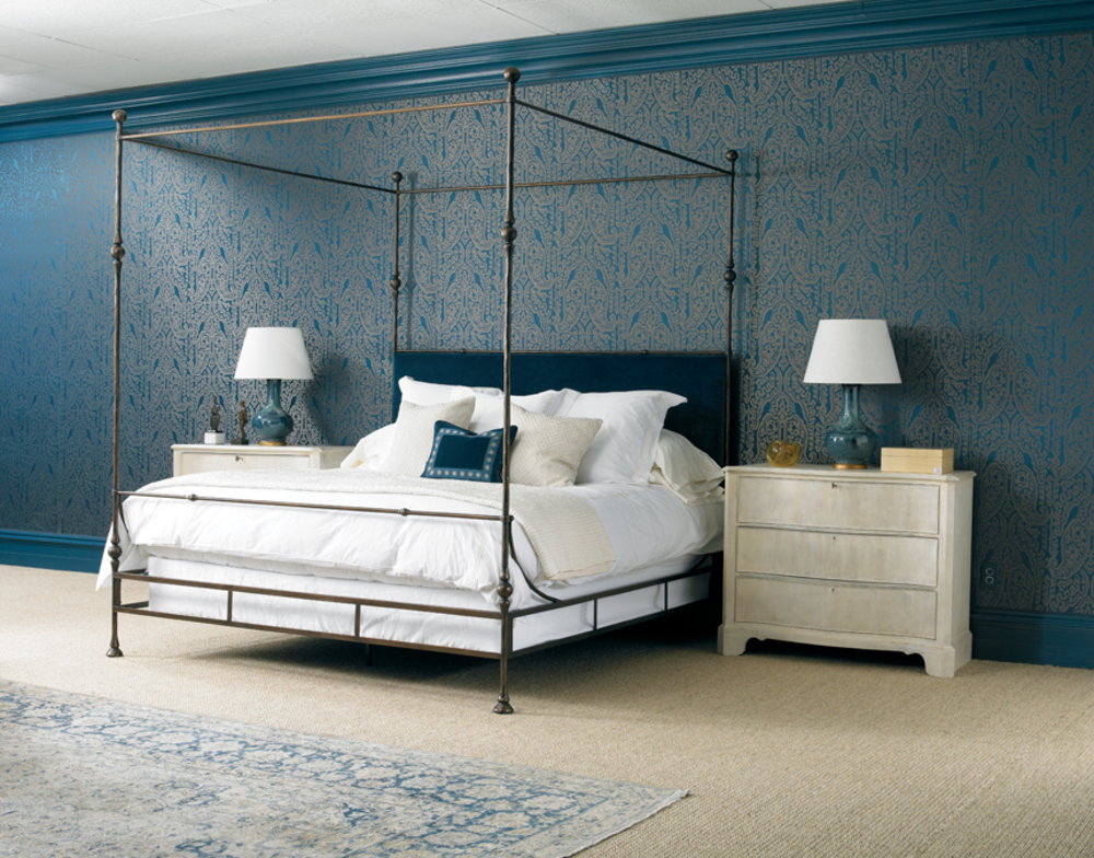 Mr. and Mrs. Howard by Sherrill Furniture - Tuscan King Bed