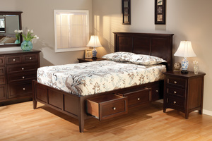 Thumbnail of Whittier Wood Furniture - Three Drawer Nightstand