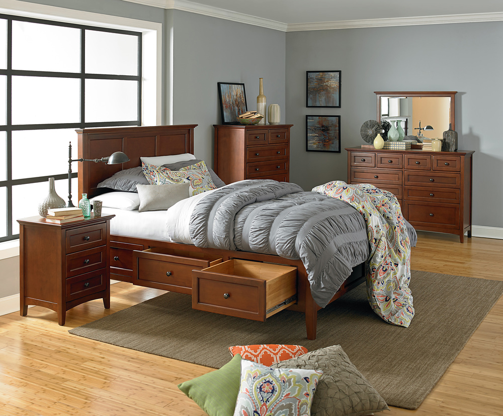 Whittier Wood Furniture - Ten Drawer Dresser