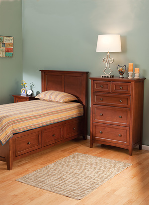 Thumbnail of Whittier Wood Furniture - Five Drawer Tall Chest