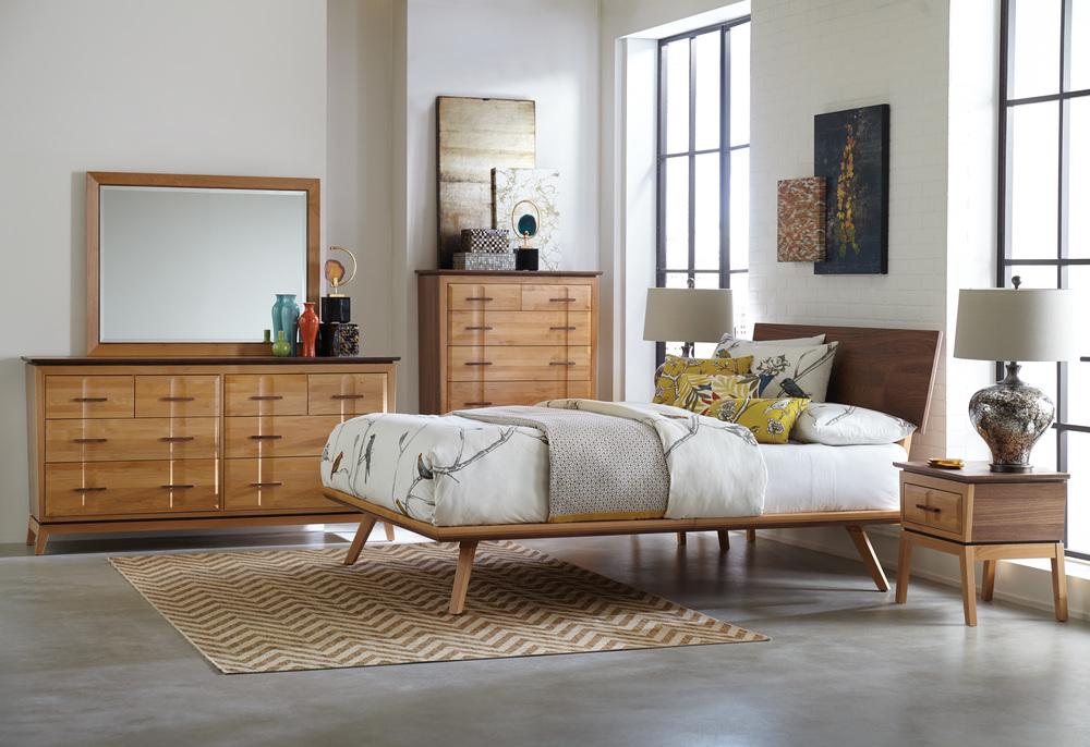 Whittier Wood Furniture - Low Dresser