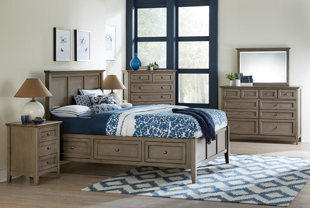 Whittier Wood Furniture - McKenzie Storage Bed