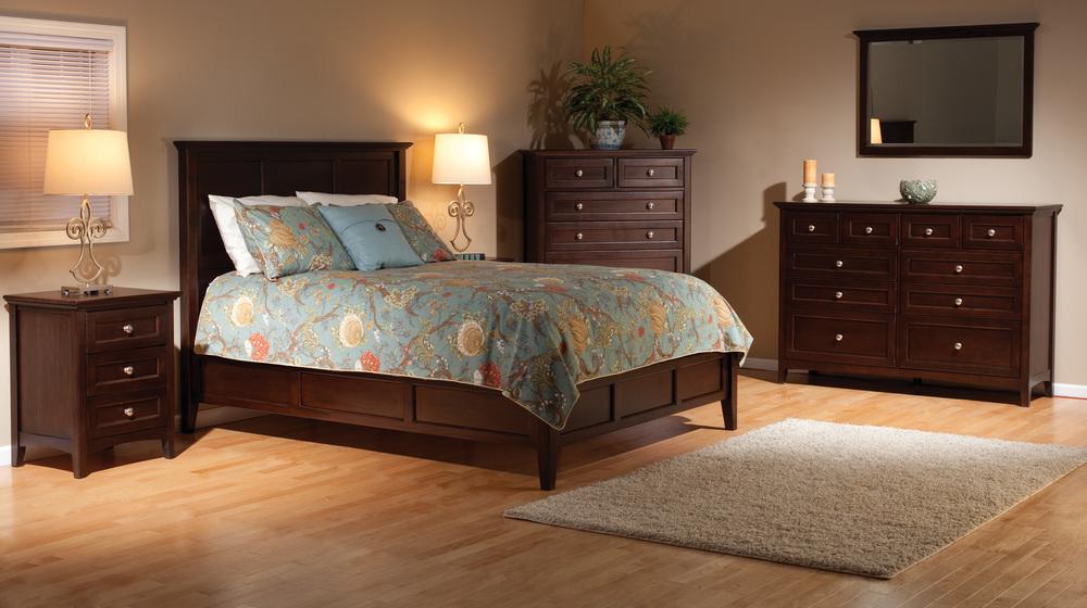 Whittier Wood Furniture - McKenzie Bed
