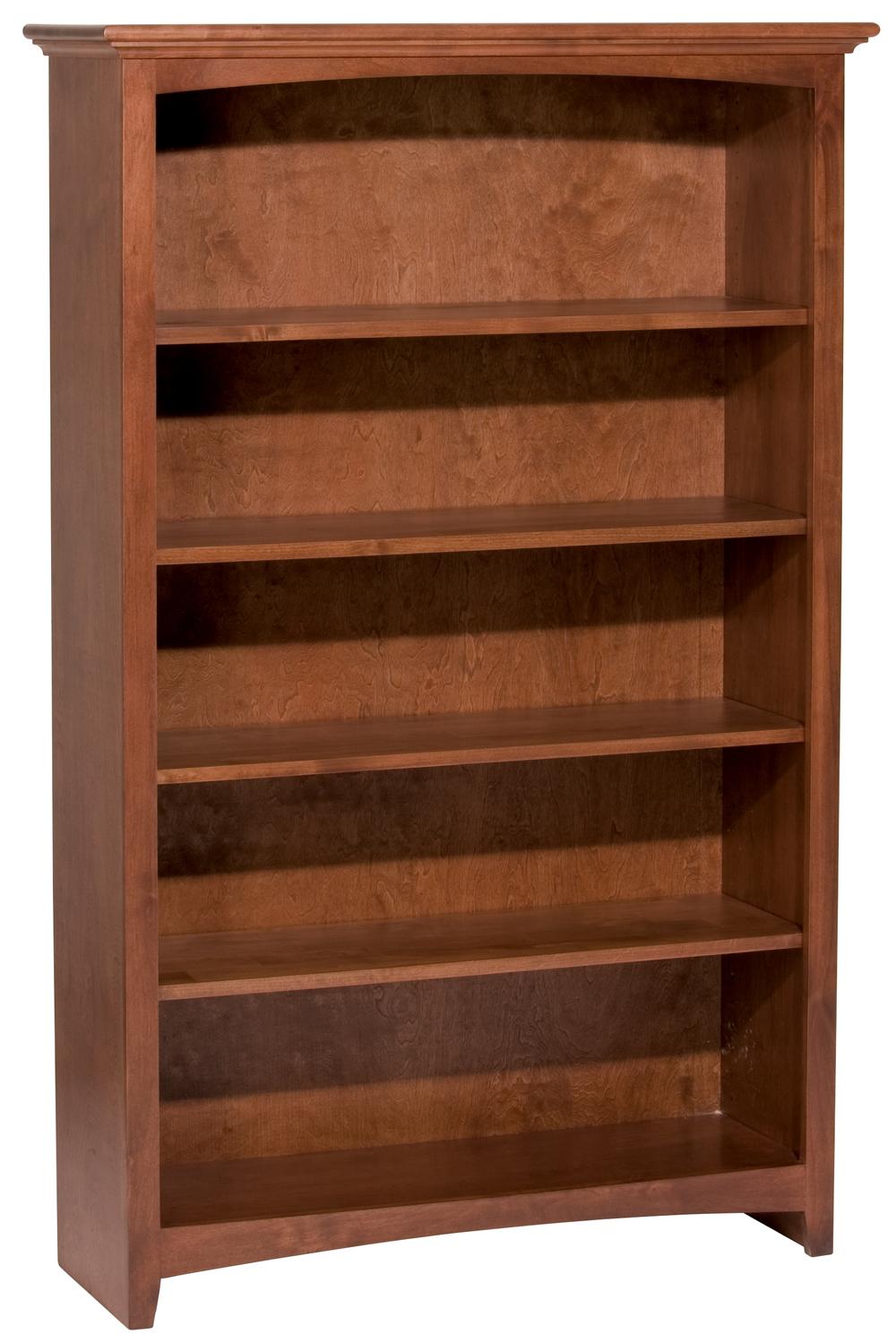 Whittier Wood Furniture - Alder Bookcase