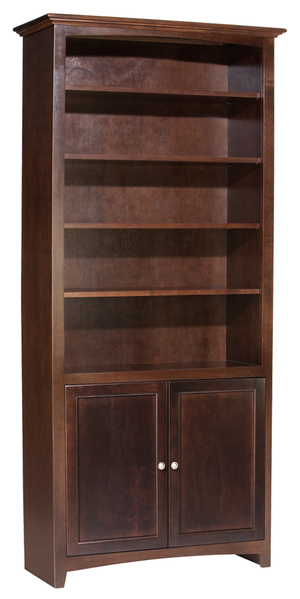 Thumbnail of Whittier Wood Furniture - Alder Bookcase with Doors