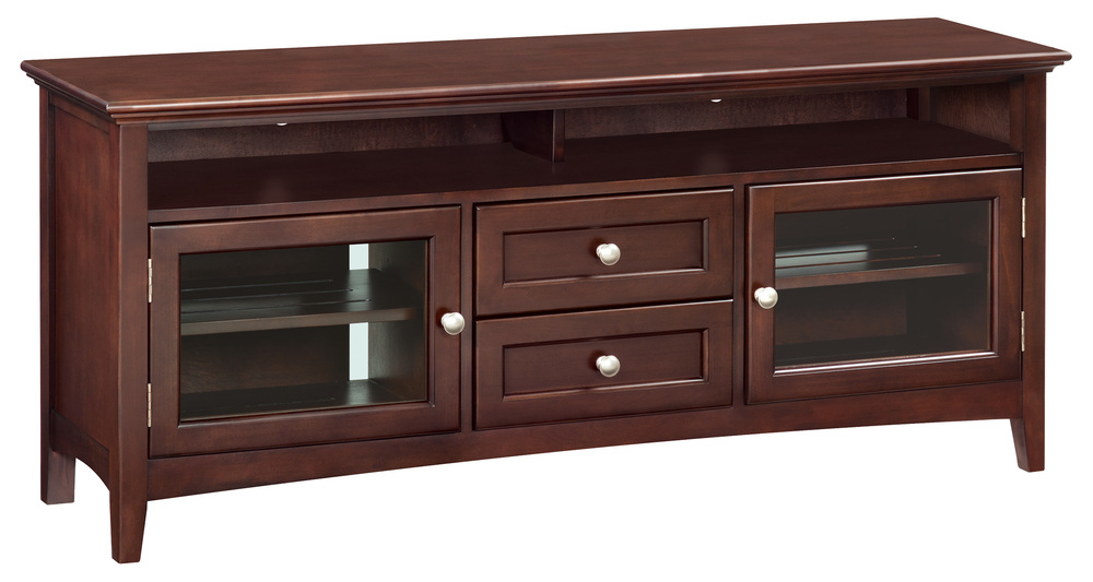 Whittier Wood Furniture - Sound Bar Media Console