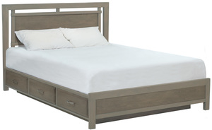 Thumbnail of Whittier Wood Furniture - California King Panel Storage Bed